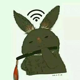 愛吃肉的兔子